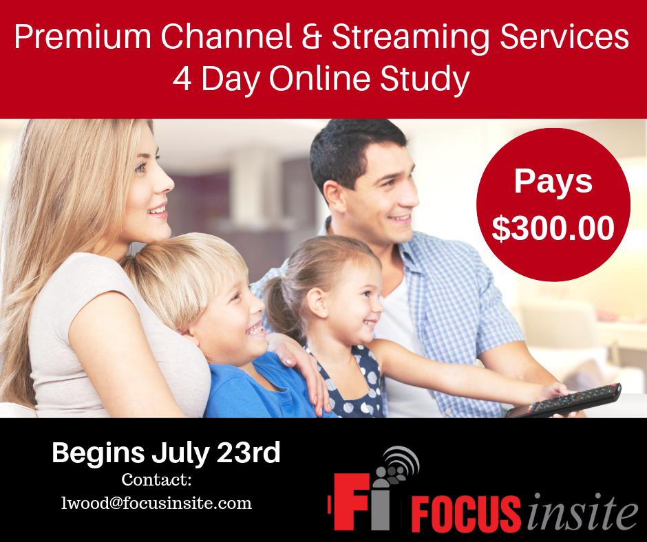 Premium TV Study