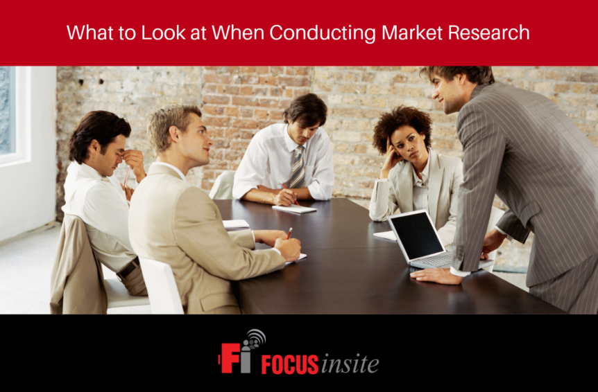 5 - What to Look At When Conducting Market Research