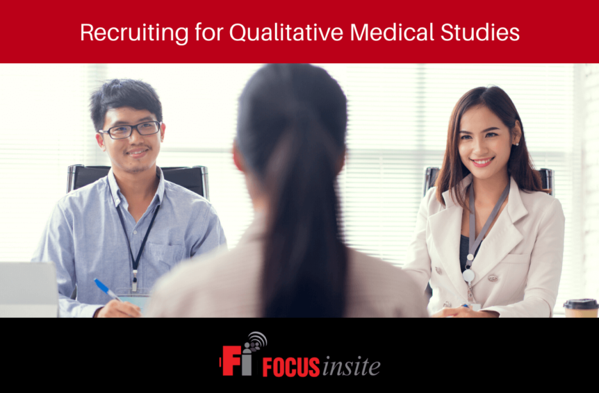 Recruiting for Qualitative Medical Studies