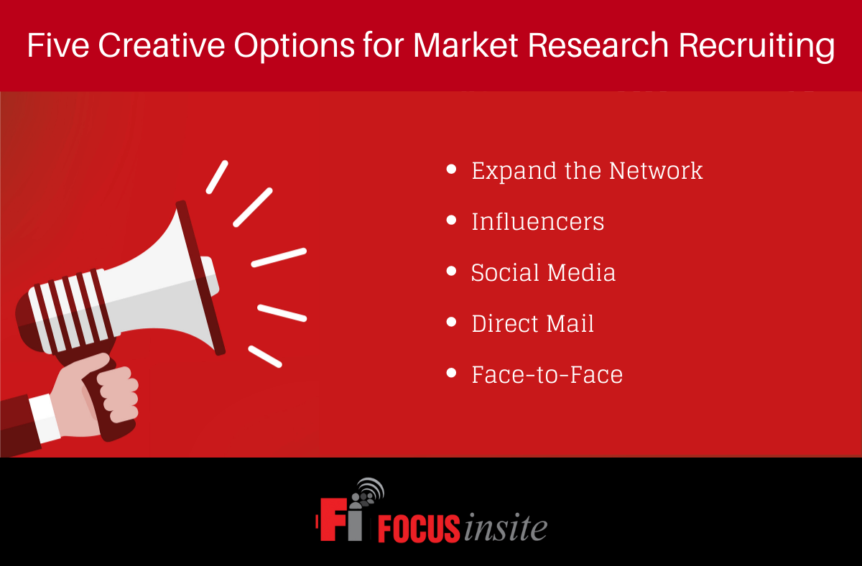 Five Creative Options for Market Research Recruiting